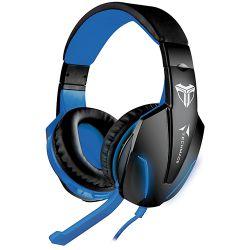 cuffie techmade gaming tm-fl1-bl multimediali blu