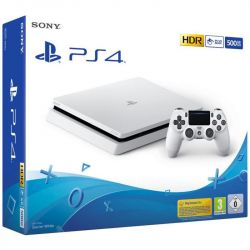 console sony playstation 4 500gb f chassis slim white eu