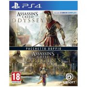 videogioco ps4 assassin's creed origins + assassin's creed odissey