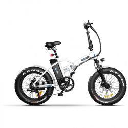 bici elettrica pieghevole icon.e e-road plus 250w navy white s