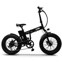 the one bici elettrica one nitro 250w black