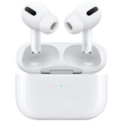 auricolari apple airpods pro + custodia ricarica wireless mwp22ty/a