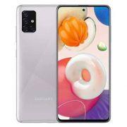 """smartphone samsung sm-a515f galaxy a51 4+128gb 6.5"""" metallic silver dual sim italia"""