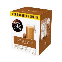 capsule di caffè nescafé dolce gusto cafe au lait 18 pz