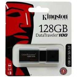 pendrive kingston usb 3.0 128gb dt100g3/128gb