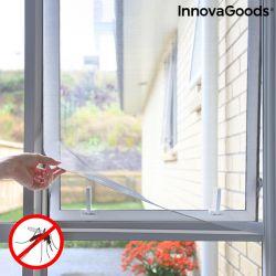 zanzariera adesiva ritagliabile per finestre white innovagoods