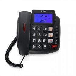 telefono brondi bravo 90 lcd nero