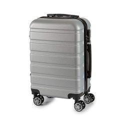 bagaglio a mano abs 24 x 57 x 38 cm bigbuy home