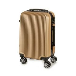 bagaglio a mano abs 22 x 57 x 37,5 cm bigbuy home