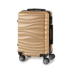 bagaglio a mano abs 22 x 27 x 37,5 cm bigbuy home