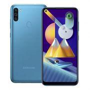 "smartphone samsung sm-m115 galaxy m11 3+32gb 6.4"" blue dual sim eu"