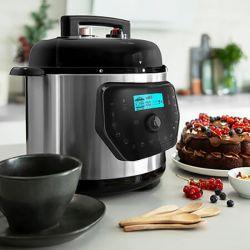 robot da cucina cecotec h deluxe 6 l lcd acciaio inossidabile