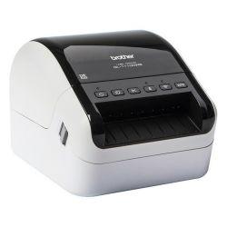stampante per etichette brother ql1110nwbzx1 110 mm/s 300 dpi wifi lan bianco