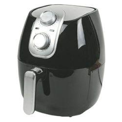 friggitrice kooper ad aria ariosa 4.2lt - cestello 2.8lt 1500w nera e silver