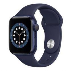 apple watch serie6 gps 40mmblue aluminium case/deep navy sport band