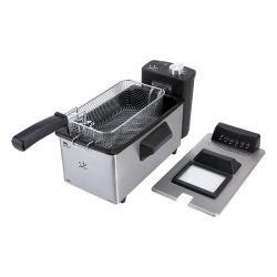 friggitrice jata fr680 3,2 l 2000w acciaio inossidabile