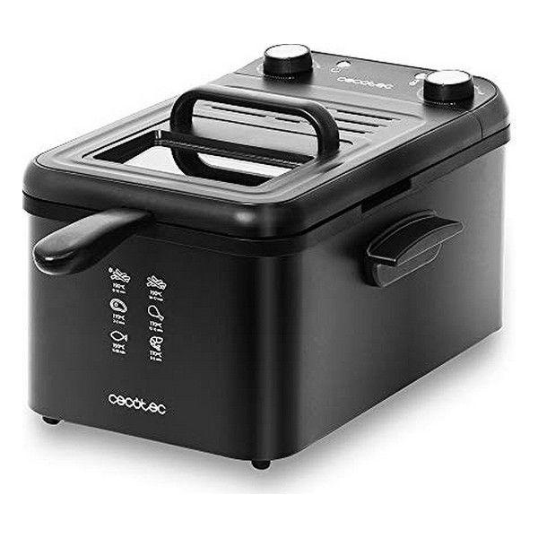 friggitrice cecotec cleanfry infinity 3000 3 l 2400w nero