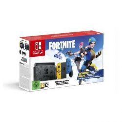 console nintendo switch 1.1 blue/yellow special edition + fortnite eu