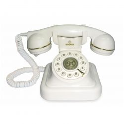 brondi telefono vintage 20 bianco