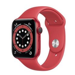 apple watch serie6 gps+cell44mm red alum.case/red sport b.