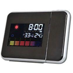 majestic radiosveglia wt-229 con termometro e retroproiezione ora