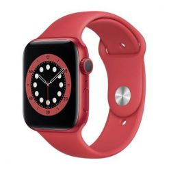apple watch serie6 gps 44mm red alum. case / red sport band