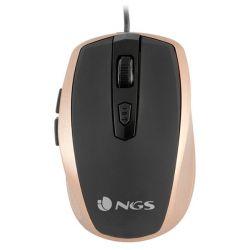 mouse ottico mouse ottico ngs tick gold usb dorato 1600 dpi