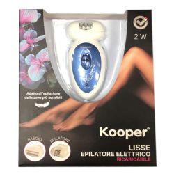 kooper epilatore elettrico viola lisse