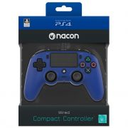 ps4 nacon wired compact controller color edition - blue