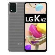 """smartphone lg k42 3+64gb 6.6"""" gray tim"""