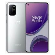 "smartphone oneplus 8t 8+128gb 6.55"" 5g silver dual sim eu"