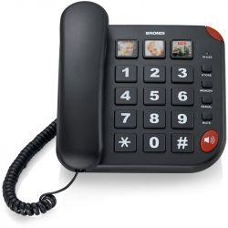 telefono brondi bravo 15 nero