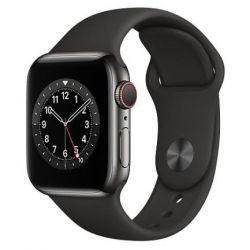 apple watch serie6 gps+cell40mm sp.gray alum.case/black sport band