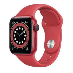 apple watch serie6 gps+cell40mm red alum.case/red sport b.