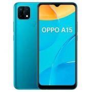 "smartphone oppo a15 3+32gb 6.5"" blue dual sim tim"