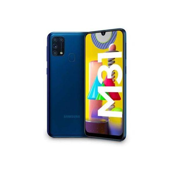 "smartphone samsung sm-m315f galaxy m31 6+64gb 6.4"" blue dual sim italia"