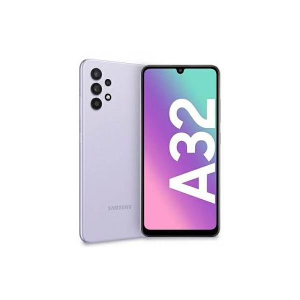 "smartphone samsung sm-a32 galaxy a32 4+128gb 6.5"" light violet dual sim italia"