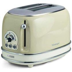 tostapane ariete elettronico 0155 vintage funzione riscalda e scongela 810w beige