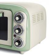 ariete forno elettrico 0979 vintage 18lt 1380w verde