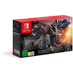 console nintendo switch 1.1 monster hunter rise special edition + m.h.rise