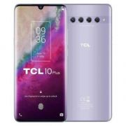"smartphone tcl 10 plus 6+256gb 6.47"" starlight silver dual sim italia"