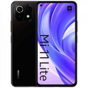 """smartphone xiaomi mi 11 lite 6+128gb 6.55"""" boba black italia"""