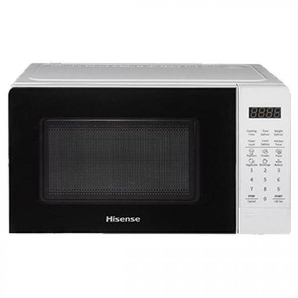 hisense forno a microonde +grill h20mows3g 20l 700w white