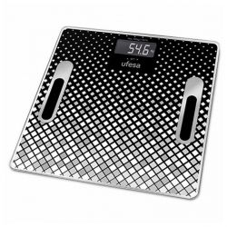bilancia digitale da bagno ufesa be1855 negro 30 x 30 cm
