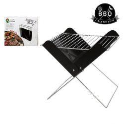 barbecue portatile bbq classics 33085 30 x 26 x 30 cm nero bigbuy bbq