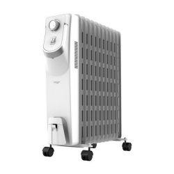 radiatore a olio 11 elementi cecotec ready warm 5850 space 360º 2500w bianco