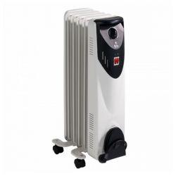 radiatore a olio 5 elementi grupo fm rw-10 1000w