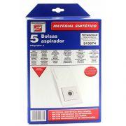 sacchetto di ricambio per aspirapolvere tecnhogar 915649 5 pz