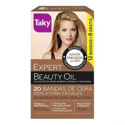 cera depilatoria viso beauty oil taky 20 pz