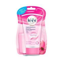 crema depilatoria sotto la doccia veet pelli normali 150 ml